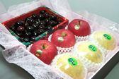♥((德記水果禮盒))♥紐西蘭空運黑櫻桃日本富士蘋果台灣新世紀梨綜合禮盒