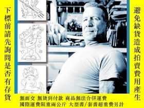 二手書博民逛書店Sailor罕見Jerry s Tattoo Stencils IIY360448 Kate Hellenbr