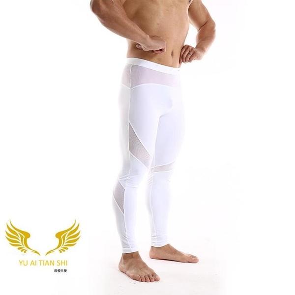 △男塑身褲△ 男士中腰運動褲 性感提臀 舒適透氣 多色可選 YUAI_G6661