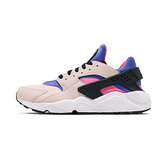 Nike Air Huarache 男鞋 米白紫 襪套 運動 休閒鞋 318429-056