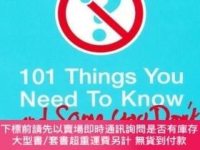 二手書博民逛書店101罕見Things You Need to Know (And Some You Don t)101件你應該知