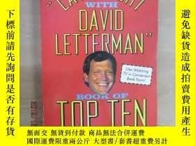 "二手書博民逛書店THE""LATE罕見NIGHT WITH DAVID LETTF"