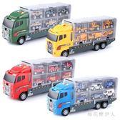 玩具車兒童超大號卡車貨柜車消防合金汽車模型 tx1918【棉花糖伊人】