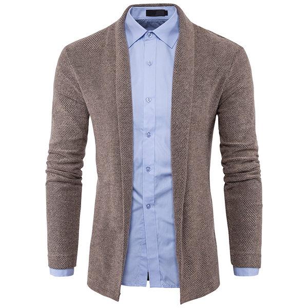 針織外套 韓版修身男士針織衫 E3211