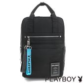 PLAYBOY- 後背包 MA-1系列-百搭黑