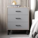 床頭櫃簡約現代臥室床邊簡易儲物櫃白色輕奢收納北歐風ins小櫃子【618店長推薦】