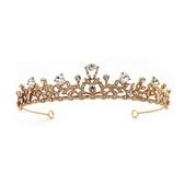 水鑽皇冠-巴洛克宮廷風時尚新娘頭飾2色73xr36【時尚巴黎】