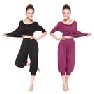 瑜珈服 新款瑜珈服莫代爾套裝瑜伽服七分愈加性感健身服休閒大碼韓版 16【618特惠】