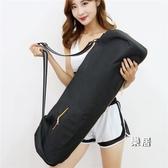 瑜伽包 收納袋子裝瑜伽墊套罩便攜大容量長型背包帆布防水背袋通用JY