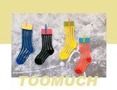 夏季新款高羅口中筒襪超薄豎條絲襪