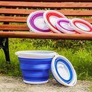 釣魚折疊桶 - 便攜式耐高溫可折疊水桶戶...