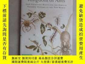 二手書博民逛書店外文書罕見Kingdom of ants(共95頁,精裝)Y15969 出版2010