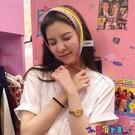 針織髮帶 宋妍霏同款髮帶毛線針織洗臉髮箍女網紅頭飾韓國簡約百搭外出髮捆 寶貝計畫 618狂歡
