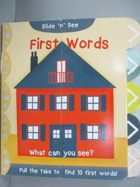 【書寶二手書T4/少年童書_JAB】Slide n See First Words_Nick Ackland