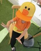 寶寶帽 卡通棒球帽 鴨舌帽 網帽 帽子 防曬必備 BU12823 好娃娃