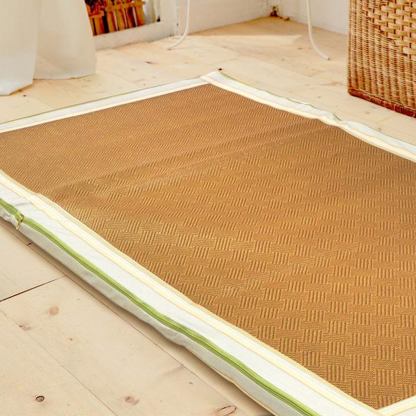 【卡蒂亞】亞藤透氣棉床墊(雙人加大6尺)