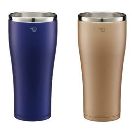 #象印SX-DD60不鏽鋼真空保溫杯0.6L(無杯蓋) 《飲料或啤酒保冷效能保持口感》(無杯蓋喔!)