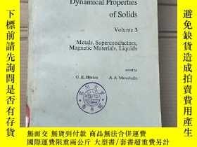 二手書博民逛書店dynamical罕見properties of solids volume 3 (P1949)Y173412