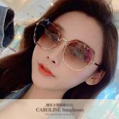 《Caroline》年度最新網紅款潮流行百搭抗UV太陽眼鏡 71906標檢局D74321