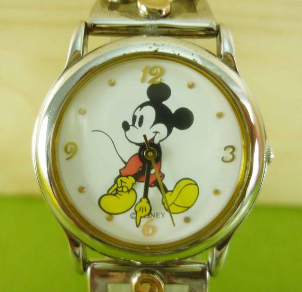 【震撼精品百貨】米奇/米妮_Micky Mouse~手錶-銀走路