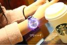 2件免運 手錶 韓風觸控LED閃光錶 手錶 生日禮物情人節女錶男錶對錶