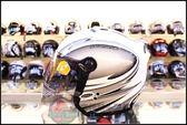 [中壢安信]SOL SL-27S SL27S STORM 隕石 白銀 安全帽 半罩式安全帽 再送好禮2選1
