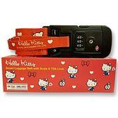 Sanrio HELLO KITTY可秤重旅行箱束帶★funbox★_444634A