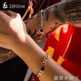手錬/手鐲羅馬數字情侶男一對可刻字韓版個性簡約潮學生森系閨蜜手環女 蘿莉小腳ㄚ