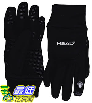 [美國直購] HEAD Digital Sport Running Gloves with Sensatec (L)
