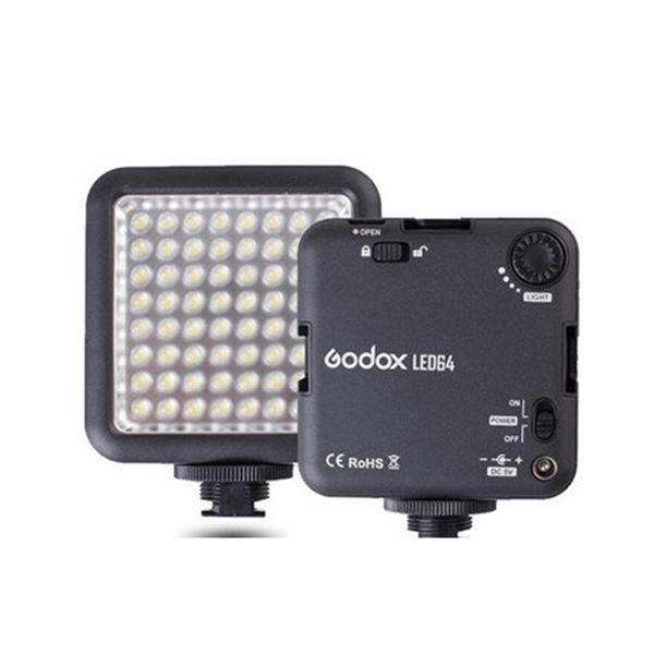 黑熊館 Godox 神牛 LED 64 攝影燈 近照燈 持續燈 補光燈 婚攝 商攝 錄影燈 LED64