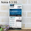 【ACEICE】滿版鋼化玻璃保護貼 Nokia 8.3 5G (6.81吋) 黑