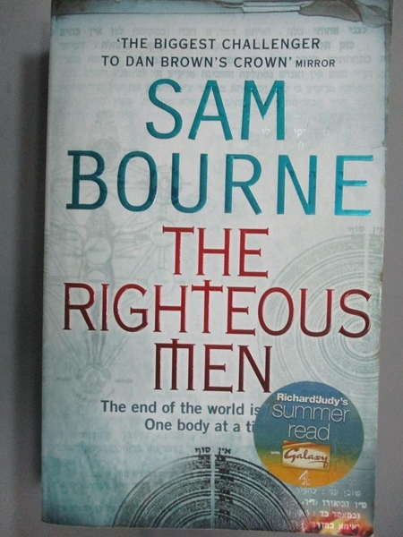 【書寶二手書T8/原文小說_LDL】The Righteous Men_Sam Bourne