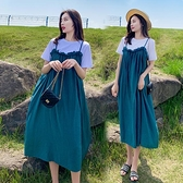 孕婦裙 孕婦裝夏裝連衣裙長款新款孕婦裙子時尚寬松兩件套裝洋氣夏季