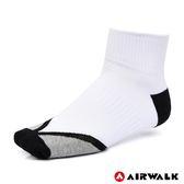 AIRWALK 運動短襪 白 A825350100 鞋全家福