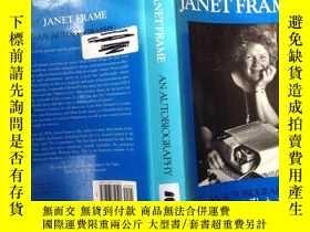 二手書博民逛書店珍妮特·弗雷姆罕見Janet Frame an Autobiog