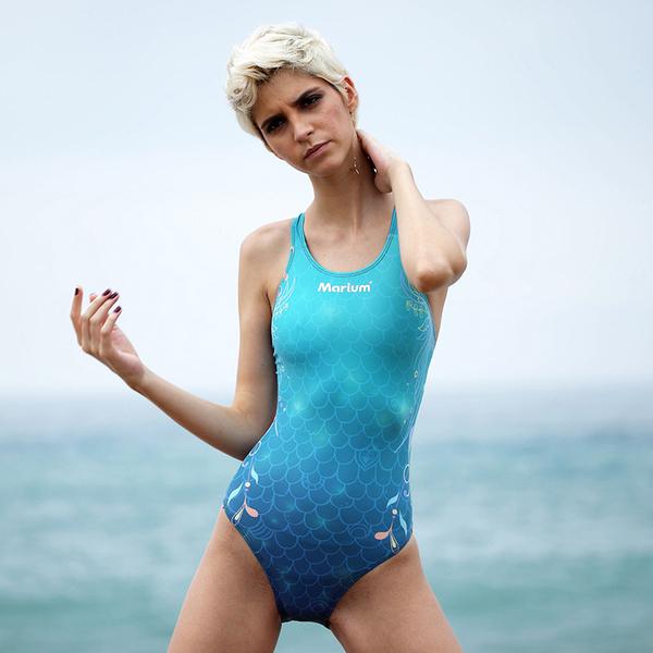 ≡MARIUM≡ 大女競賽型泳裝 MAR-6005WA