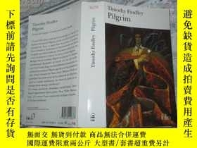 二手書博民逛書店Pilgrim罕見(法文原版 Timothy Findley著