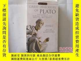 二手書博民逛書店GREAT罕見DIALOGUES OF PLATO【426】Y1