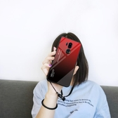 LG G7手機殼漸變玻璃防摔LGG7保護套個性創意潮男款時尚女款硅膠