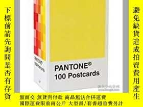二手書博民逛書店Pantone罕見Postcard Box: 100 Postc