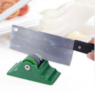 固定式磨刀器帶底座 實用型圓形磨刀器 家用快速磨刀石【現貨+預購  不挑款出貨】