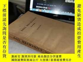 二手書博民逛書店SOIL罕見MECHANICS(土力學)【第2版】(英文版)Y4211 出版1976