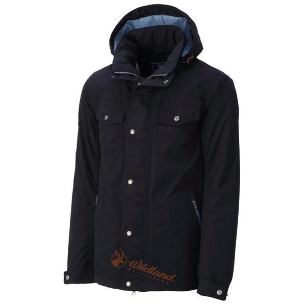 Wildland 荒野 0A32992-54黑色 男 RE防水PR棉風格外套