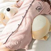 【限時下殺89折】腰椎牽引器 卡通狗狗腰枕睡眠床上腰間盤護腰孕婦家用靠墊腰墊腰椎間盤突出