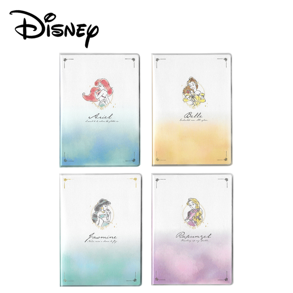 【日本正版】迪士尼公主 2022手帳本 日本製 B6手帳 月記事手帳 行事曆 004107 004114 004121 004138