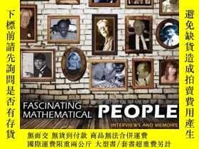 二手書博民逛書店Fascinating罕見Mathematical PeopleY256260 Donald J. Alber