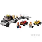 積木城市組60148全地形車賽車隊City趣味積木玩具xw