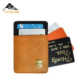 【THE89】休閒摩登952-2701新穎撞色名片夾、卡片夾