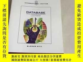 二手書博民逛書店Database罕見Design, Application De