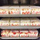 5入含蓋 500CC草莓寶盒透明盒 塑膠...